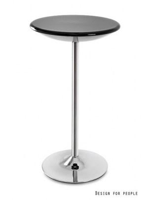 Round - stolik czarny