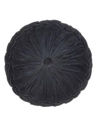Poduszka Kanan Velvet antracyt 40x10cm