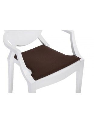 Poduszka na krzesło Royal brązowa