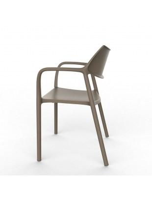 Krzesło Splash Aire czekoladowe
