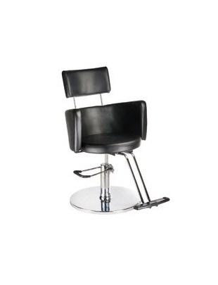 Fotel fryzjerski LUIGI BR-3927 czarny