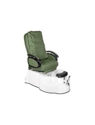 Fotel do pedicure z masażem BR-3820D Zielony