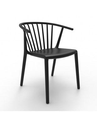 Krzesło Woody Czarne