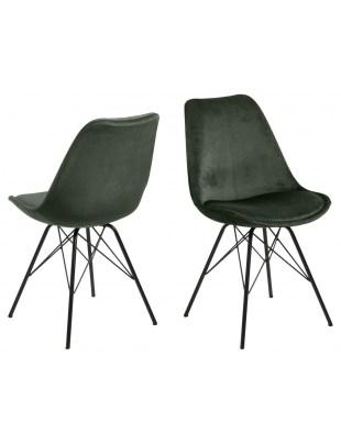 Krzesło Eris VIC zielone