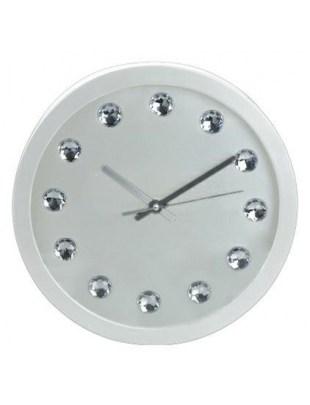 Zegar Intesi Diamanti biały