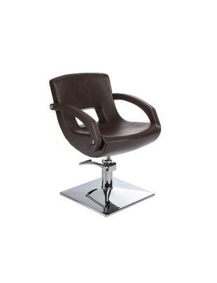 Fotel fryzjerski Nino BH-8805 brązowy