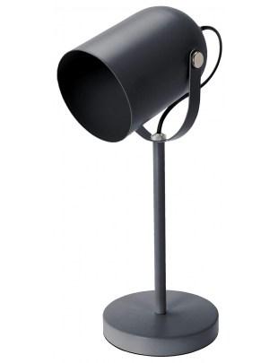 Lampka biurkowa Intesi Taylor szara mat