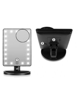 LED TOUCH 21 DIMMABLE MAKEUP MIRROR - MMSP
