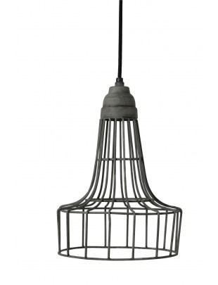Lampa wisząca Babette cement