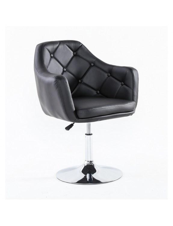 DERMEA - fotel kosmetyczny czarny
