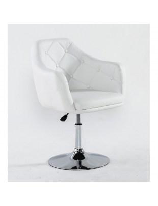 DERMEA - fotel kosmetyczny biały