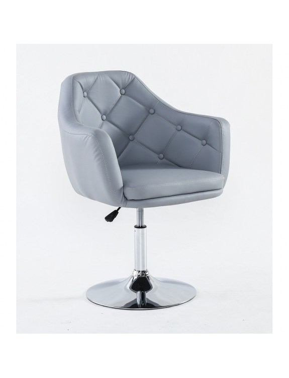 DERMEA - fotel kosmetyczny szary