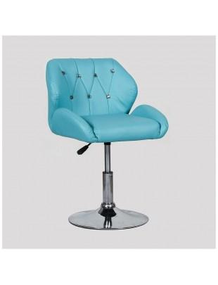 ZESTA - fotel fryzjerski turkusowy