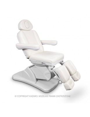Elektryczny fotel do pedicure biały - MEDICO II PLUS