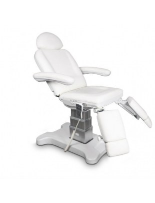 Elektryczny fotel podologiczny biały - UNICO