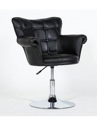 Fotel fryzjerski HC-804 czarny