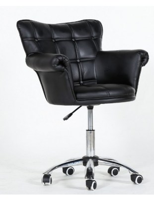 Fotel fryzjerski Lora czarny