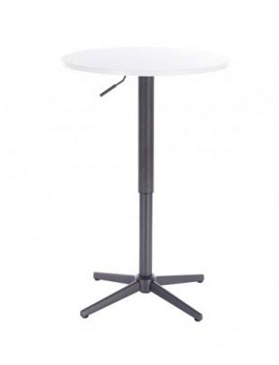 VOLA - Okrągły stolik obrotowy - biały cross