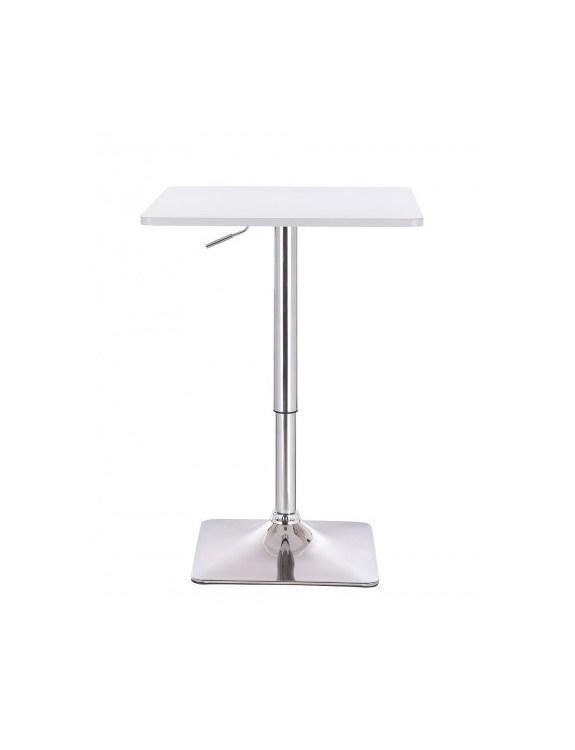 VOLA - Kwadratowy stolik obrotowy - biały