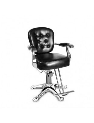 Fotel fryzjerski ANTIQUE czarny