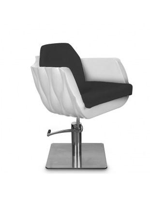 Fotel fryzjerski MILA czarny