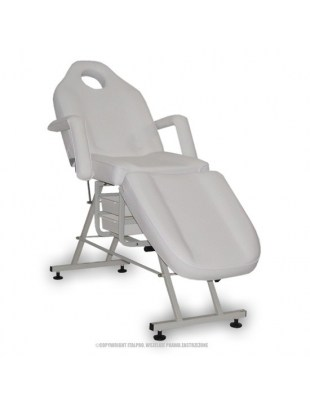 Fotel kosmetyczny standard MAX BIAŁY