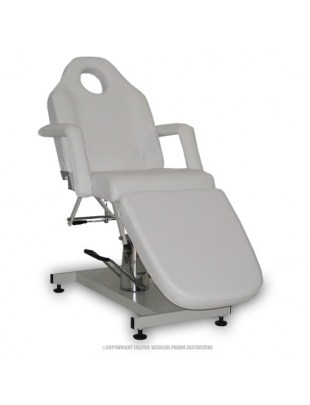 Fotel kosmetyczny standard BIS BIAŁY