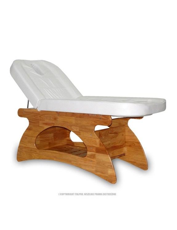 Fotel kosmetyczny - spa BIAŁY