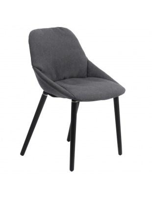 Krzesło Sofie szare ciemne Intesi