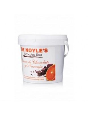 KREM DO MASAŻU czekolada pomarańcza De Noyle's - CREMA DE CHOCOLATE Y NARANJA 1000ml
