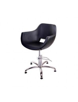 OPIUM - Fotel fryzjerski czarny Express Line Panda 48h