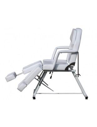 1406 - Fotel kosmetyczny (biały)