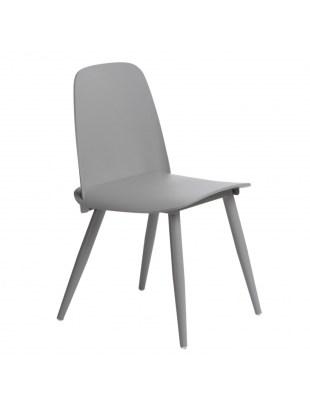 Krzesło Rosse szare