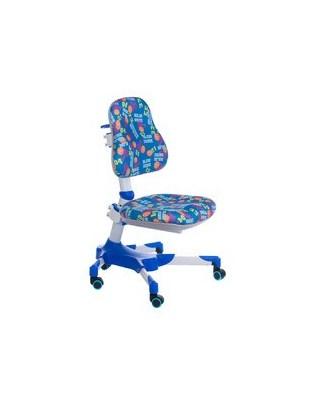 Fotel dla dzieci do biurka BX-001 Niebieski