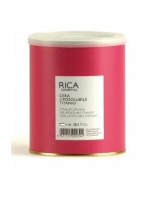 Rica - tytanowy WOSK do depilacji w puszce 400ml, miękki