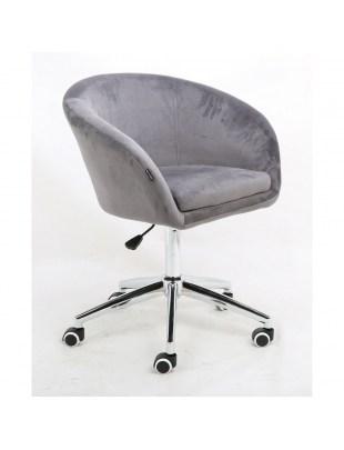 Cassie - Fotel stalowy mat
