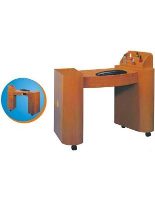 Stolik-biurko do manicure BROWN / WHITE