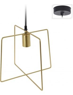 Lampa wisząca Gemo Intesi złota