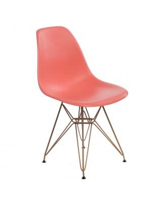 Krzesło P016 PP Gold dark peach