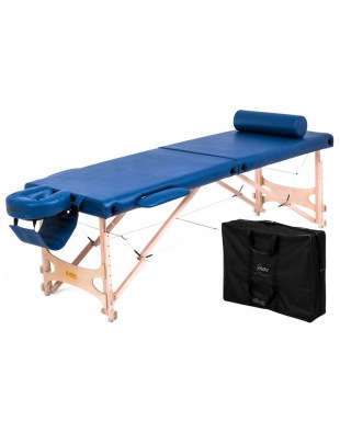 Pro Master Ultra - Stół do masażu składany drewniany