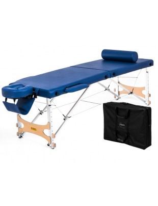 Pro Master - Stół do masażu składany drewniany pianka T30HD