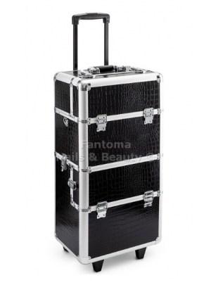 Kufer aluminiowy MAX -czarny
