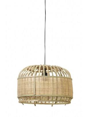 Lampa wisząca Dalika bambus 60x38