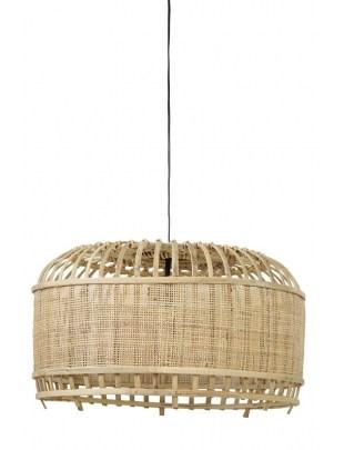 Lampa wisząca Dalika bambus 49x36