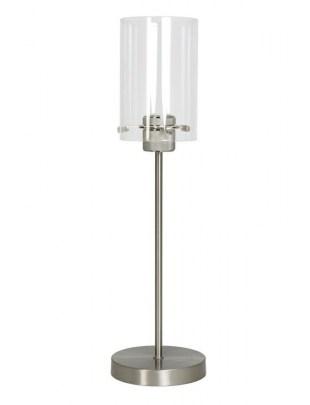 Lampa stołowa Vancouver nikiel satynowy