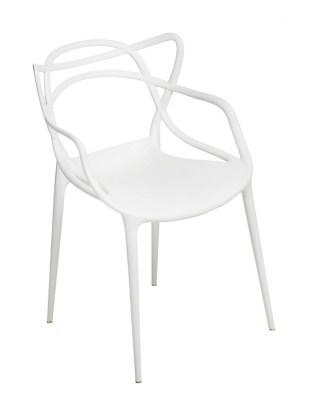 Krzesło Lexi białe insp. Master chair Ou tlet