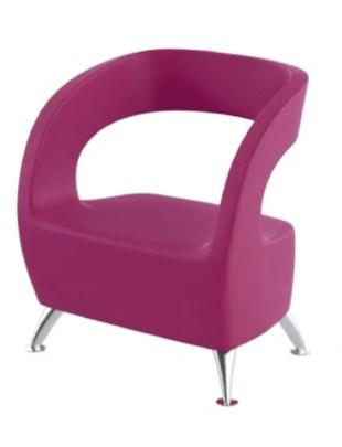 OVO Fotel do poczekalni futurystyczny - PANDA