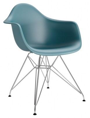Krzesło P018PP navy green chrom HF Outle t