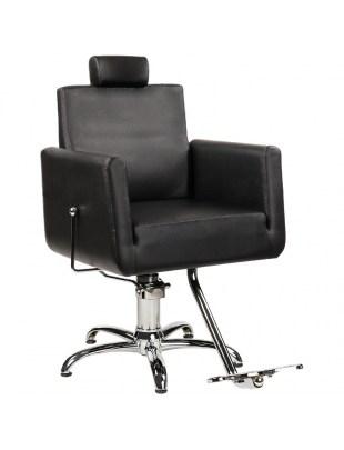 Fotel fryzjerski z podnóżkiem / barberski - RAY - Ayala 48h