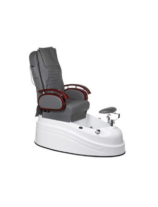 Fotel do pedicure z masażem BR-2307 Szary